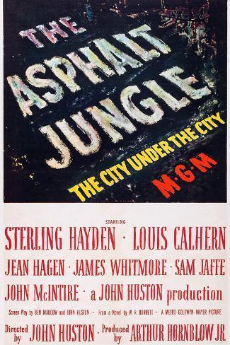 Asphalt-Dschungel Kunstdruck