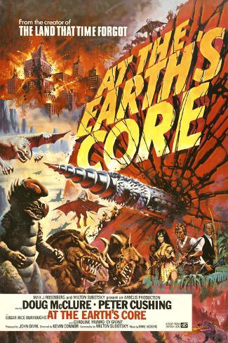 At the Earth's Core Kunstdruck