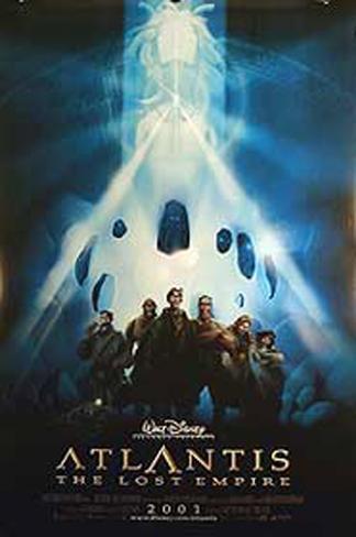 Atlantis (Filme) Doppelseitiges Poster