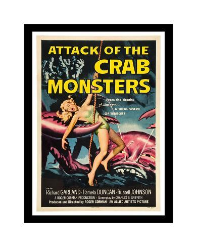 Attack Of The Crab Monsters Giclée-Druck