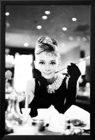 Audrey Hepburn Laminiertes gerahmtes Poster