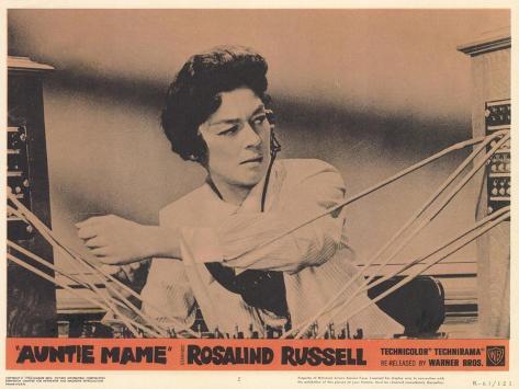 Auntie Mame, 1958 Kunstdruck