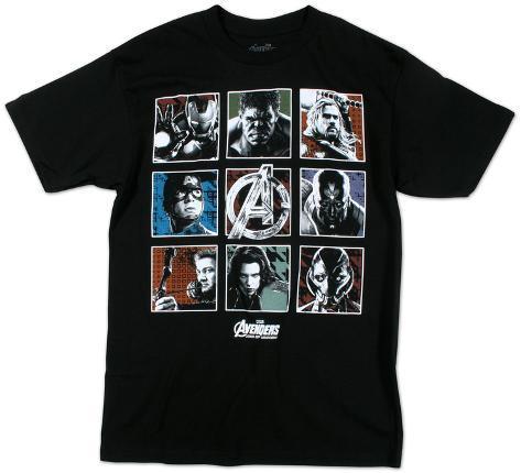 Avengers- Ultron Squares T-Shirt
