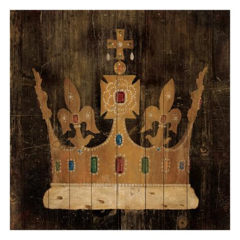 Her Majesty's Crown Kunstdruck