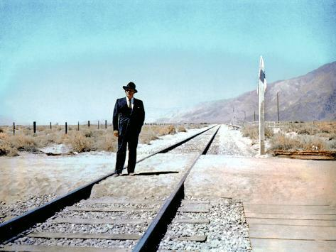 Bad Day At Black Rock, Spencer Tracy, 1955 Foto