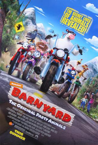 Barnyard Doppelseitiges Poster
