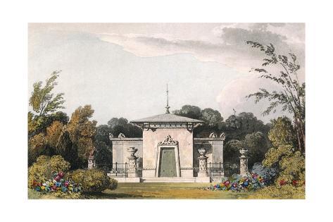 Bathing Pavilion Giclée-Druck