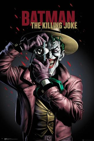 Batman- The Killing Joke Cover Poster