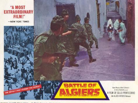 Battle of Algiers, 1968 Kunstdruck