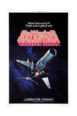 Battlestar Galactica, 1978 Giclée-Druck