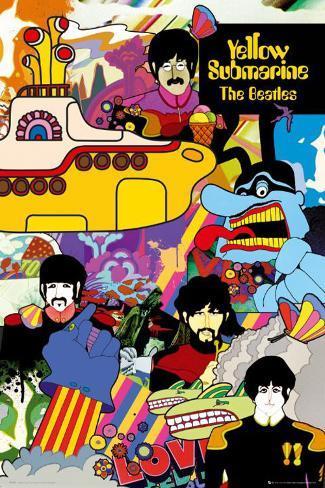 Beatles, The– Yellow Submarine Poster