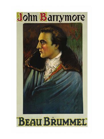 Beau Brummell Kunstdruck
