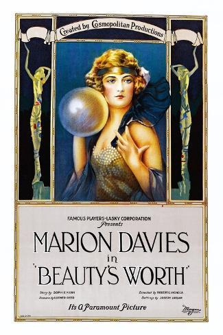 Beauty's Worth Kunstdruck