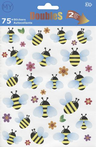 Bees Stickers Aufkleber