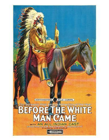Before The White Man Came - 1920 Giclée-Druck