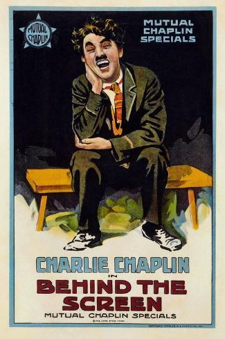 Behind the Screen, 1916 Gicléedruk