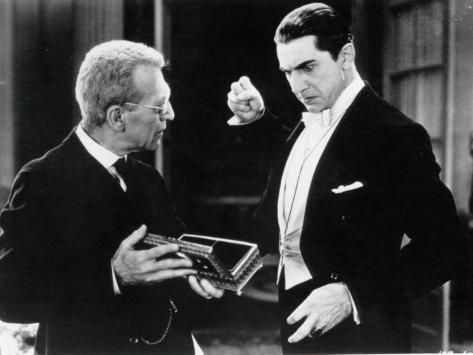 Bela Lugosi and Edward Van Sloan: Dracula, 1931 Fotografie-Druck