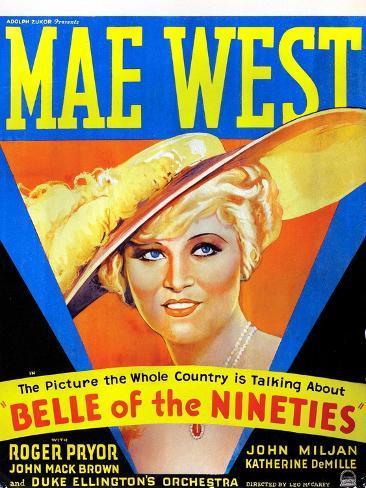 Belle of the Nineties, Mae West, 1934 Foto