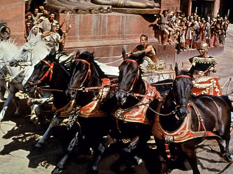 Ben-Hur, Charlton Heston, Stephen Boyd, 1959 Foto