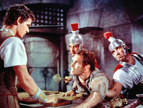 Ben-Hur, Stephen Boyd, Charlton Heston, 1959 Foto