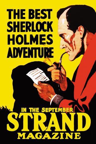 Best Sherlock Holmes Adventure Wandtattoo