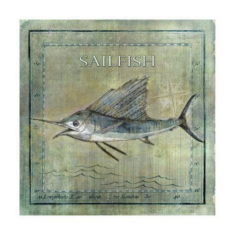 Ocean Fish VIII Kunstdruck