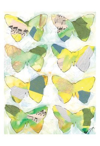 Butterfly Windows 2 Kunstdruck