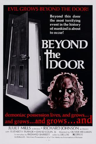Beyond the Door, 1974 Kunstdruck