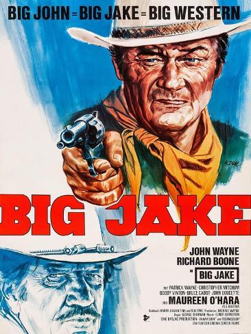 Big Jake, 1971 Kunstdruck