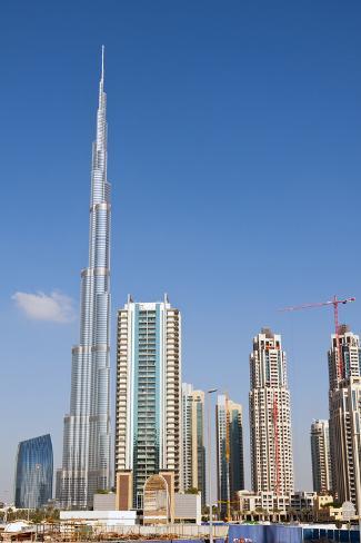 Burj Khalifa Dubai United Arab Emirates Fotoprint Van Bill