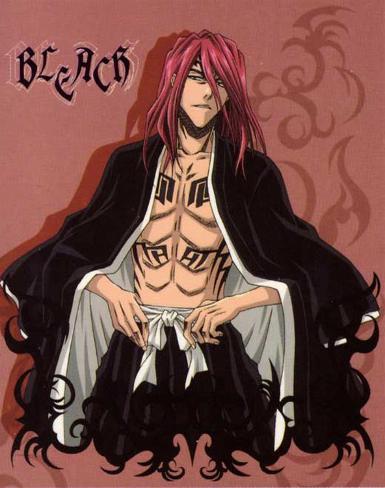 Bleach - Japanese Style Red Neuheit