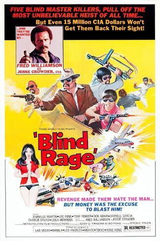 Blind Rage Kunstdruck