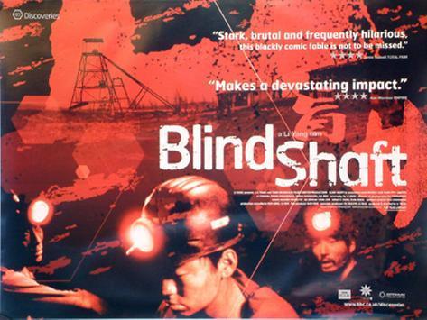 Blinder Schacht Originalposter