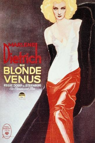 Blonde Venus, 1932, Directed by Josef Von Sternberg Giclée-Druck