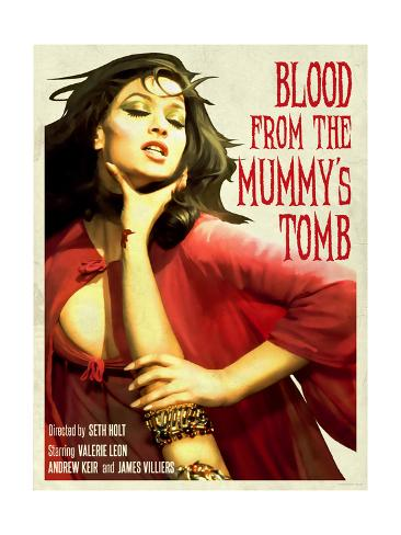 Blood From the Mummy's Tomb 1971 Kunstdruck