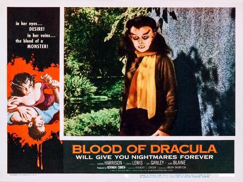 Blood of Dracula Kunstdruck