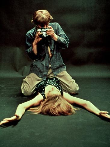 Blow-Up, David Hemmings, Verushka, 1966 Foto