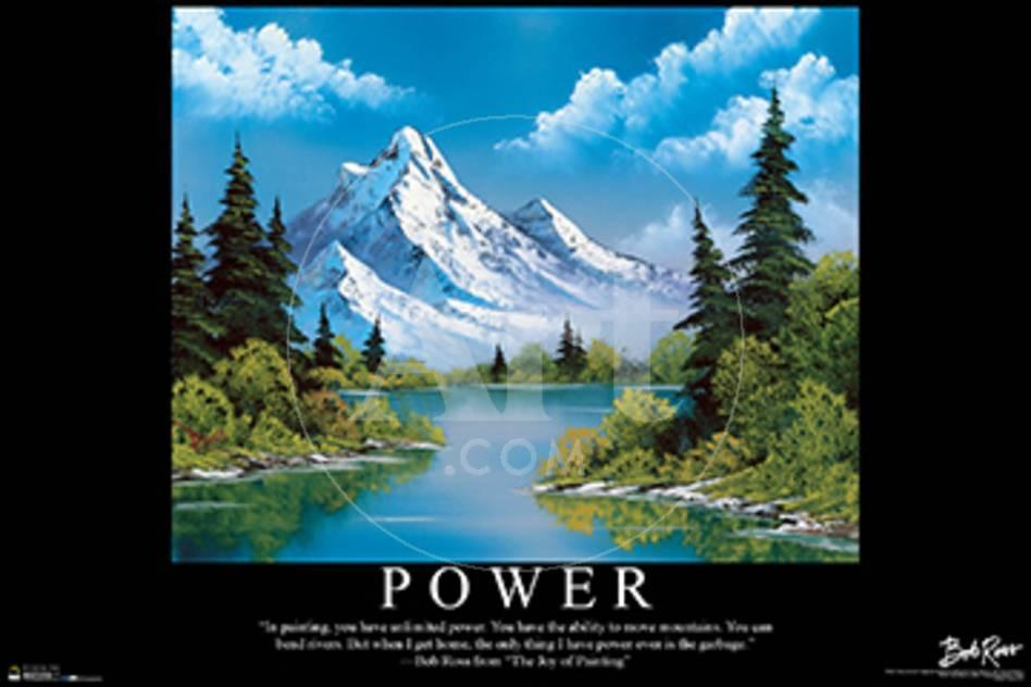 Bob Ross - Power Poster bei AllPosters.de