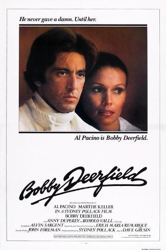 Bobby Deerfield, Al Pacino, Marthe Keller, 1977 Kunstdruck