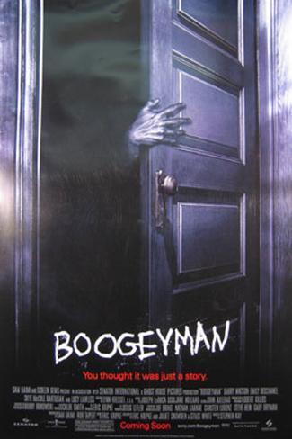 Boogeyman– Der schwarze Mann Doppelseitiges Poster