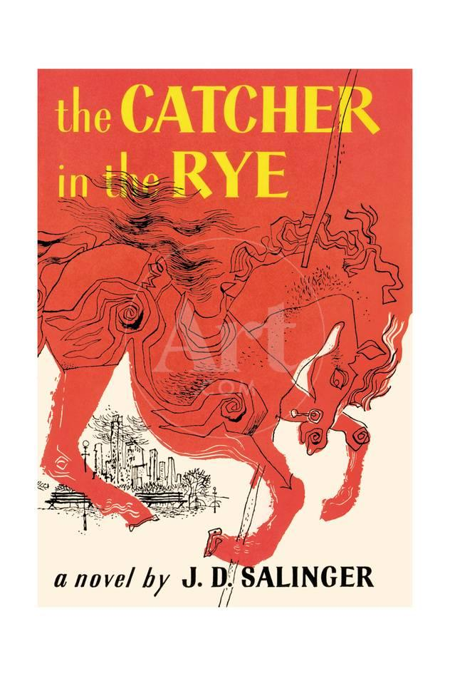 Book Cover of the Catcher in the Rye by J. D. Salinger, First ...