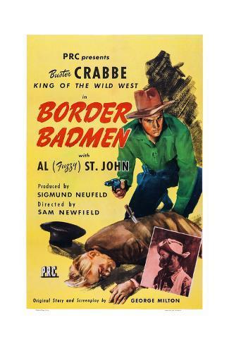 Border Badmen Giclée-Druck