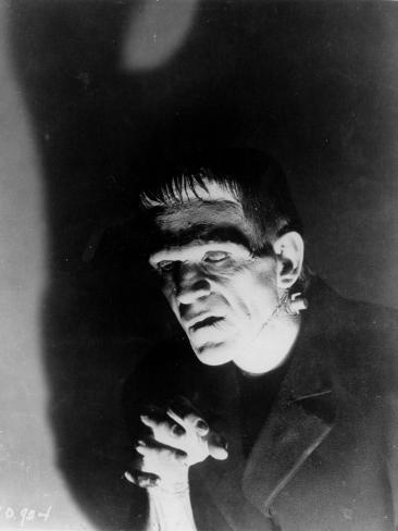 Boris Karloff: Frankenstein, 1931 Fotografie-Druck
