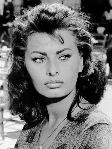 Boy On A Dolphin Sophia Loren 1957 Foto Bei Allposters De