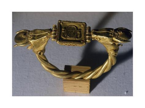 Bracelet of Ramses II Giclée-Druck