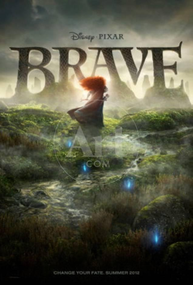 Brave (Princess Merida) Disney-Pixar Movie Poster Poster bei ...