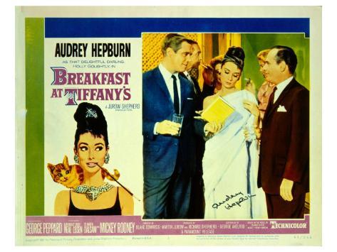 Breakfast At Tiffany's, 1961 Premium gicléedruk