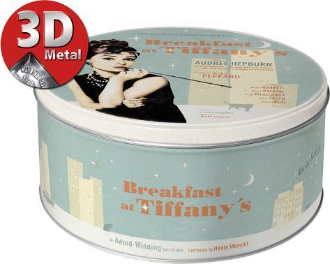 Breakfast at Tiffany's Blue Tin Box Neuheit