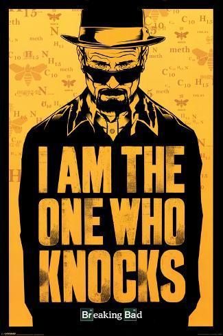 Breaking Bad - Ich bin der, der klopft Poster