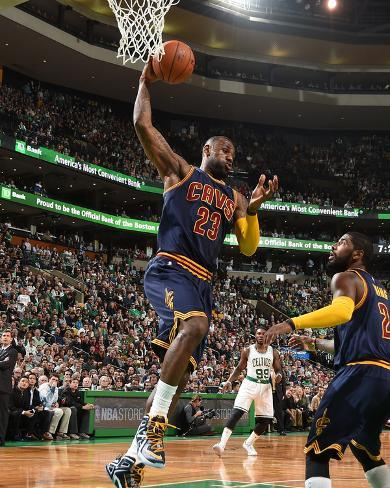 Cleveland Cavaliers v Boston Celtics - Game Three Foto